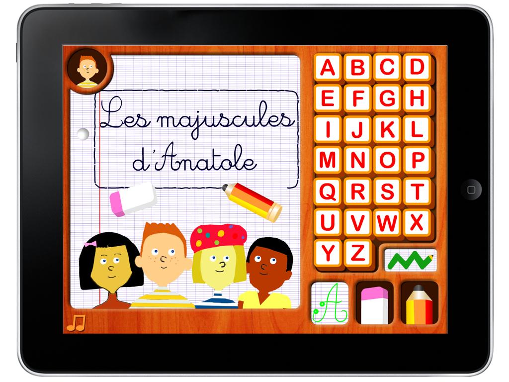 Jeux android tag lettres capitales - K en majuscule ...